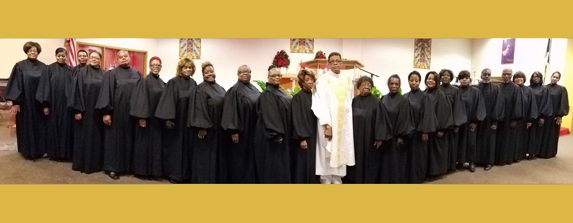 70 Ministers in black robes